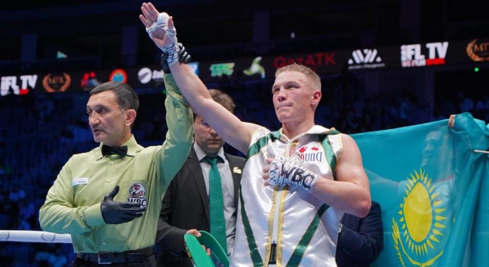 Вечер бокса в Алматы: титульные бои остались за казахстанцами