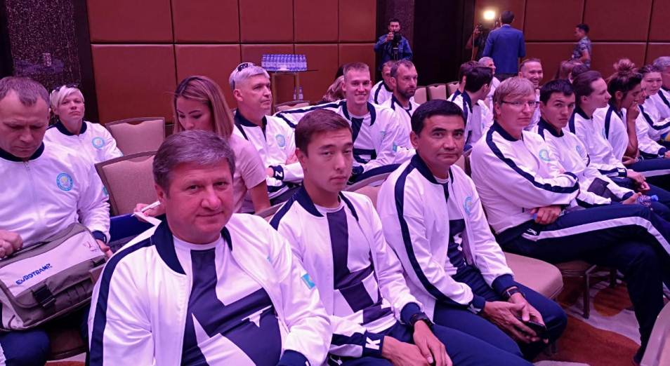 Алматы встречает казахстанских призёров Азиады