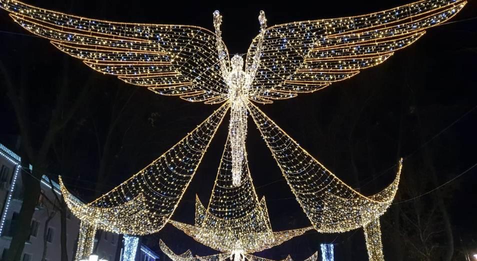 И воспарили ангелы в Шымкенте, Шымкент, День Первого Президента, Арбат, Инфраструктура, Праздник, строительство