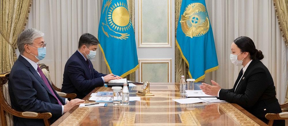 Касым-Жомарт Токаев заслушал информацию о разработке отечественной вакцины против коронавируса