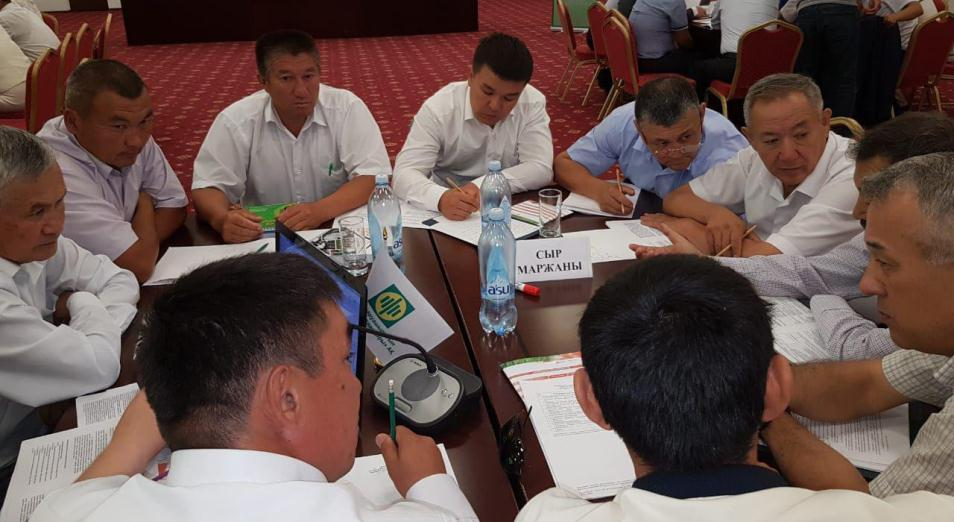 Сельхозтоваропроизводители Кызылординской области сыграли по-деловому, АПК, сельское хозяйство, Минсельхоз РК, деловая игра