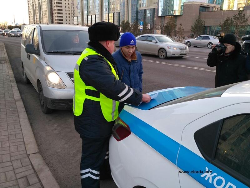 Полиция ежедневно уведомляет об имеющихся штрафах до 2,5 тыс. жителей Астаны