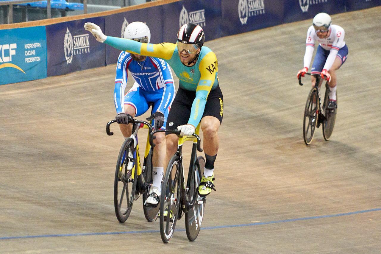 Павел Воржев обыграл шестикратного олимпийского чемпиона и стал первым на Silk Way Series, велоспорт, Велотрек, Silk Way Series, Павел Воржев