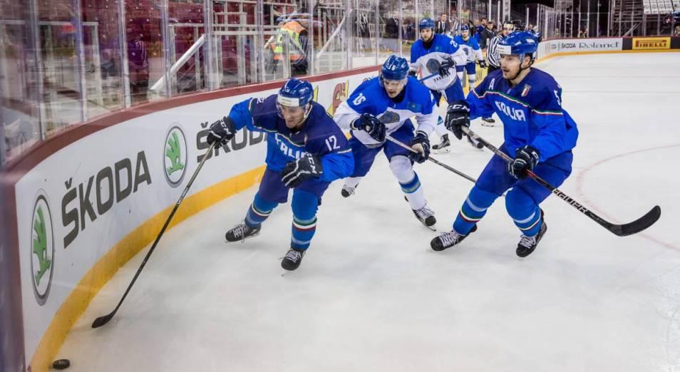 Казахстан начал хоккейный Евровызов с победы над венграми, Хоккей, Спорт, Евровызов