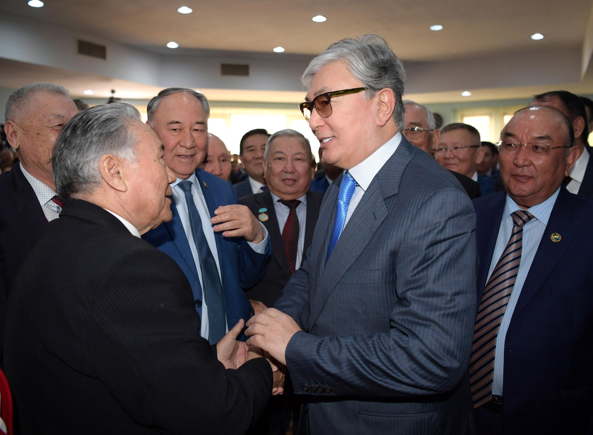 Касым-Жомарт Токаев встретился с общественностью Туркестана