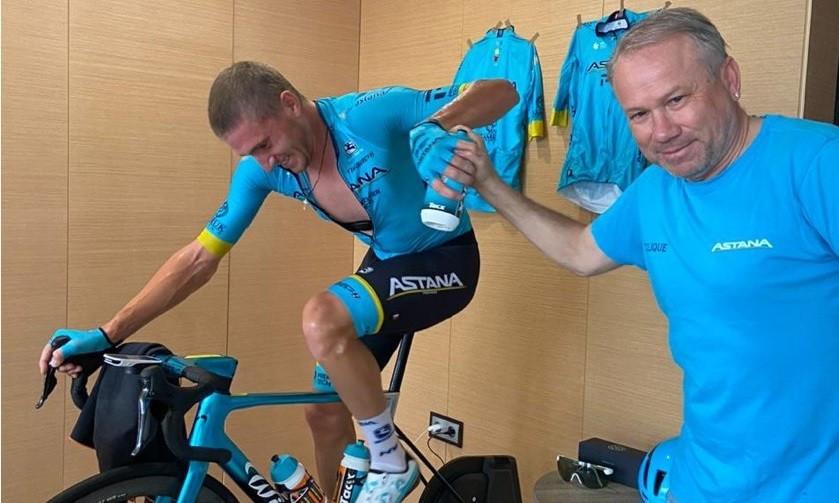 """Велогонщики Astana Pro Team заняли третье место в виртуальной """"Джиро д'Италия"""""""