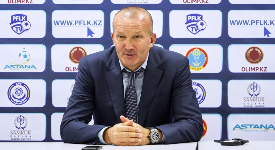 Григорчук – о матче с «Партизаном»: «Нужна игра и результат»