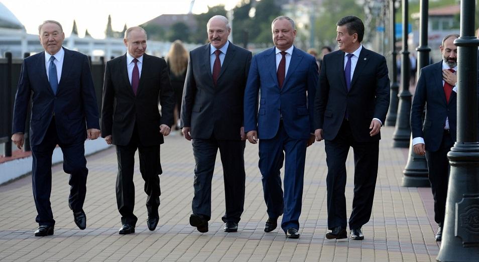 Бес президент, бір премьер, ЕАЭО, Сочи, саммит