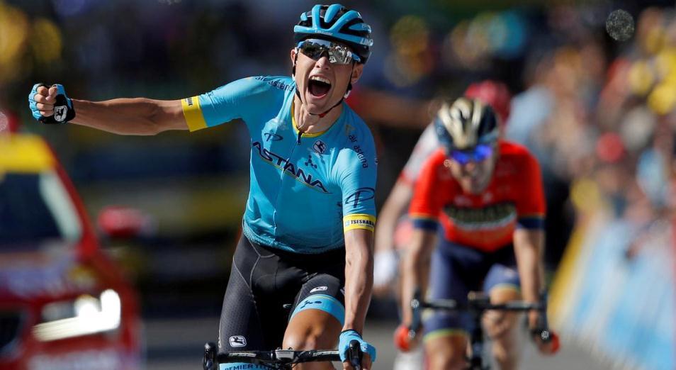 «Тур де Франс»: гонщик Astana Pro Team вновь первый