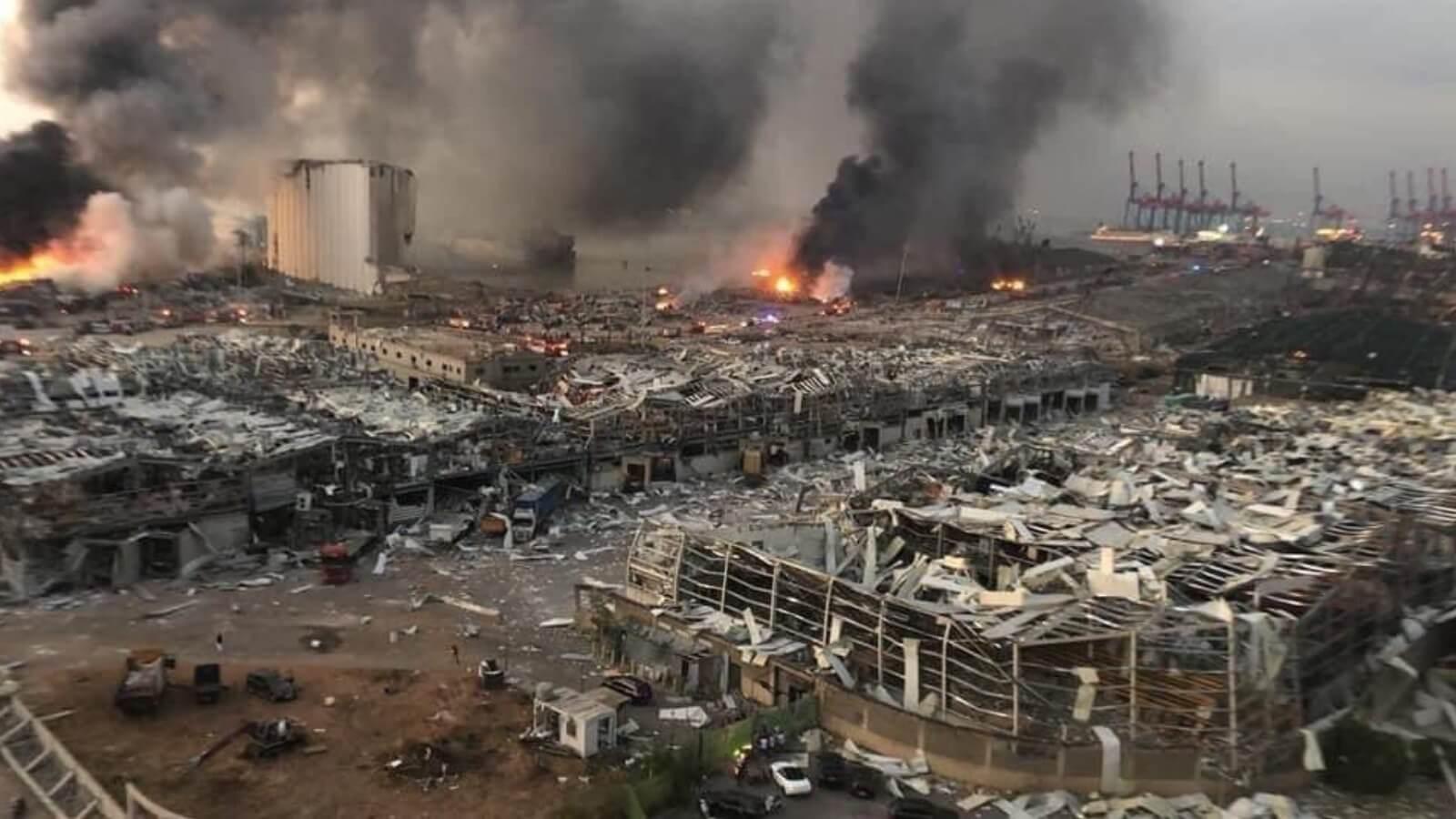 Совет обороны Ливана объявил Бейрут зоной бедствия