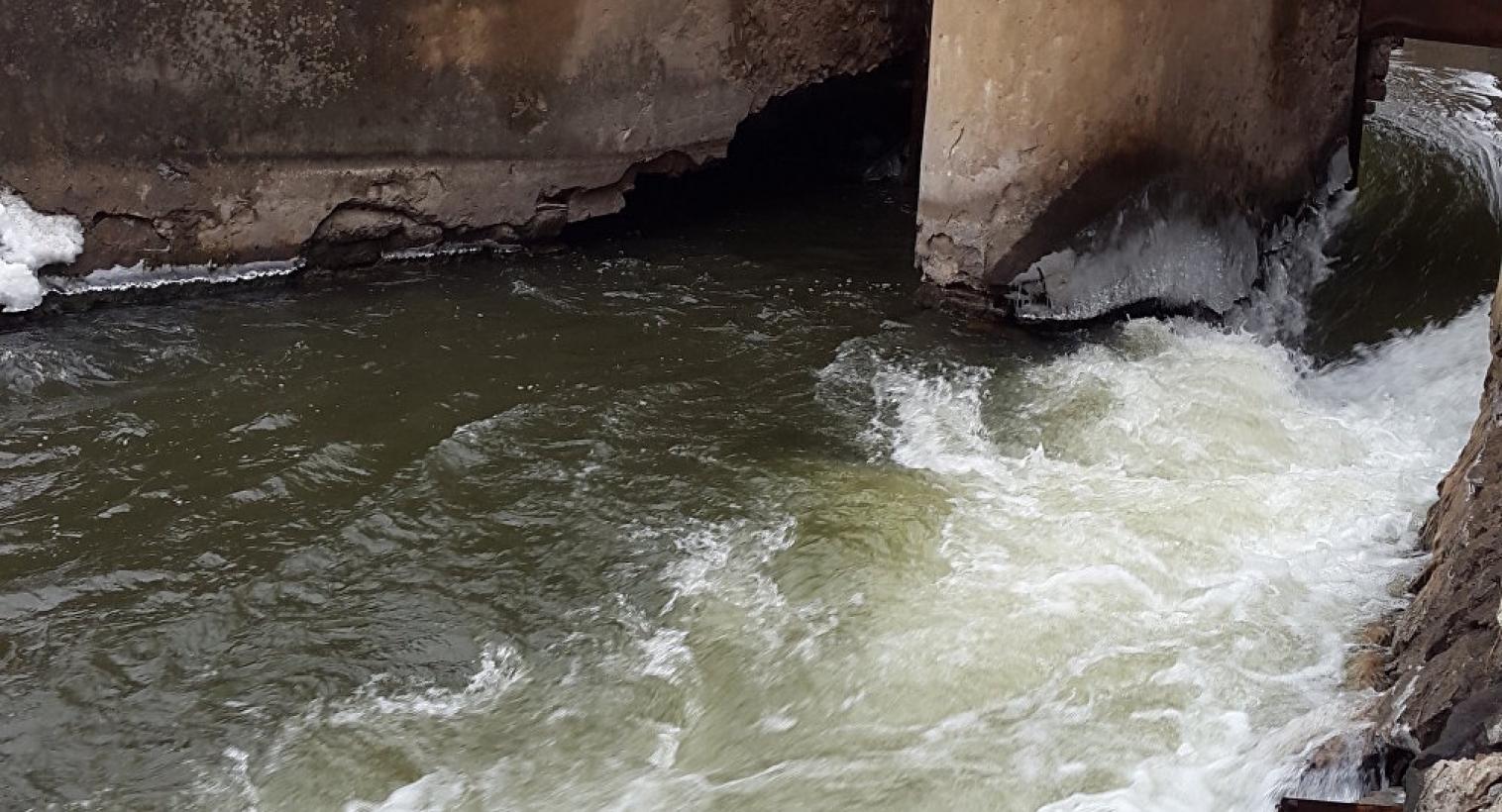 В Акмолинской области прорвало плотину