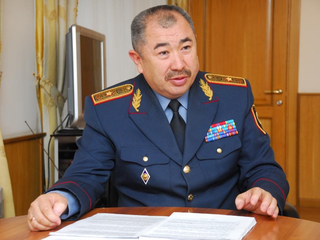 Досье: Тургумбаев Ерлан Заманбекович,  Ерлан Тургумбаев,Министр внутренних дел