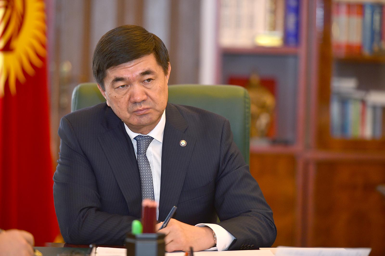Премьер Кыргызстана проведет три дня в карантине