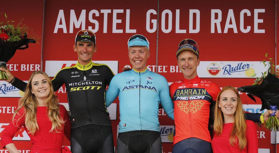 Гонщик Astana Pro Team первенствовал на «Амстел Голд Рэйс»