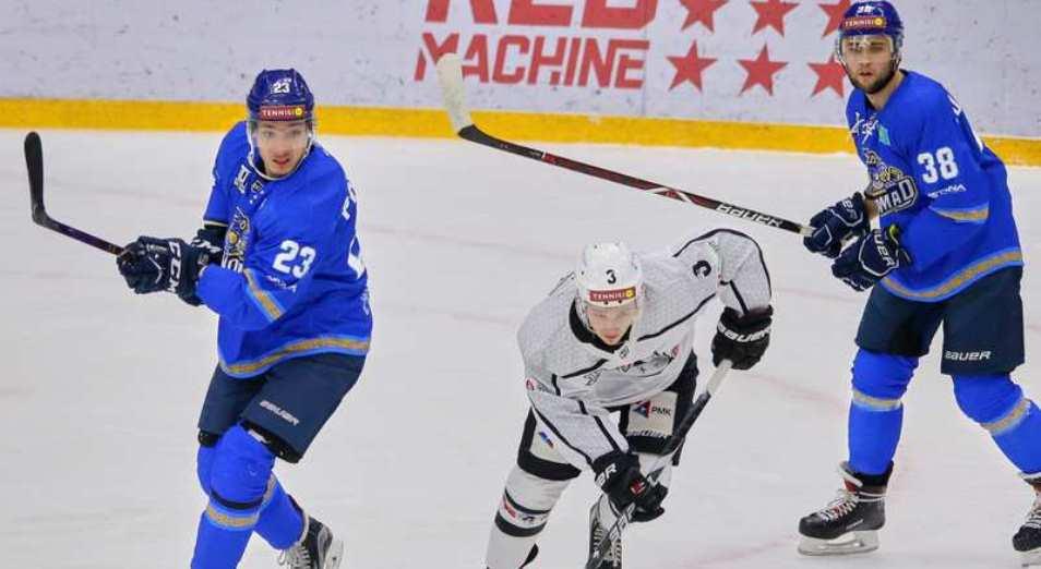 Регулярка ВХЛ: Казахстан пока только проигрывает «Челмету»