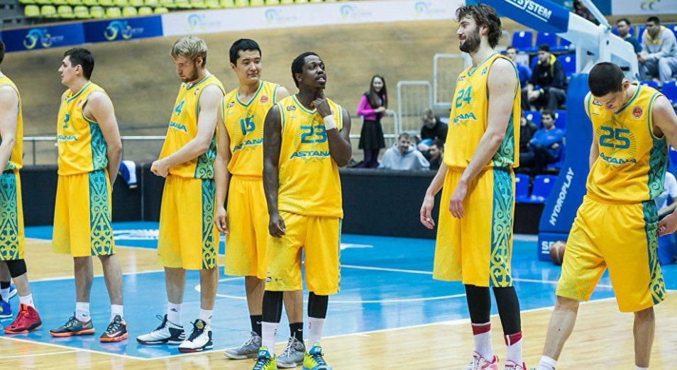 Единая Лига ВТБ: «Астана» обыграла «Химки»