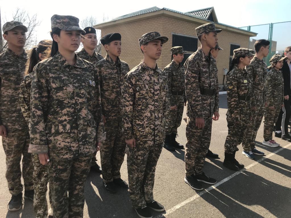 Кандидатов для участия в военно-патриотическом сборе «Айбын-2019» отбирают в РК