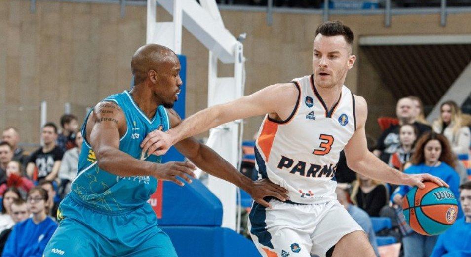 Единая Лига ВТБ: «Астана» впервые проиграла в Перми