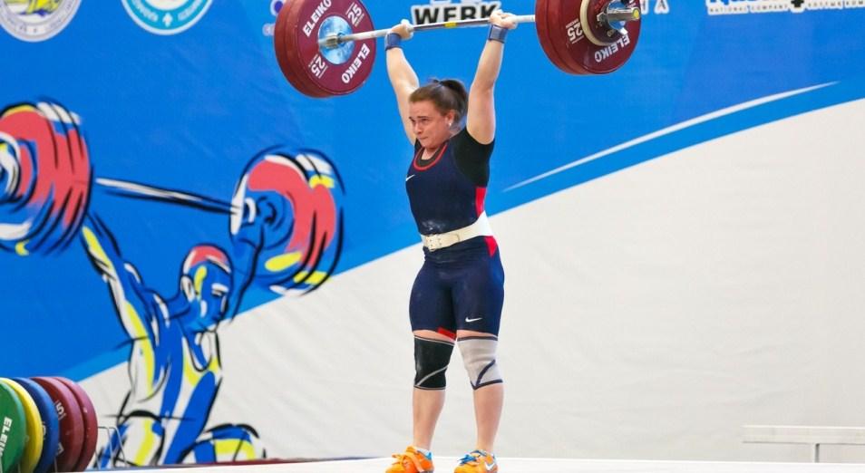 ЧМ по тяжёлой атлетике: Казахстан пока восьмой в общем зачёте, тяжелая атлетика, Чемпионат мира, Спорт, Надежда Лихачева