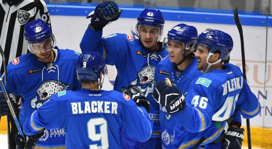 «Барыс» стал единоличным лидером Кубка Президента Казахстана