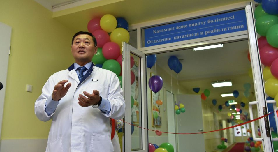 Первое отделение катамнеза для младенцев открылось в Астане, медицина, здравоохранение, дети, отделение катамнеза, недоношенные дети, реабилитация, педиатрия