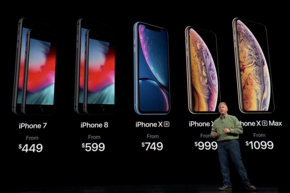 Новые iPhone стали самыми большими и дорогими в истории Apple, iPhone, Смартфон, Apple, iPhone Xs, iPhone Xs Max