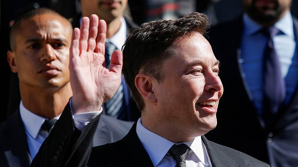 $1 млрд потерял Илон Маск из-за падения акций Tesla