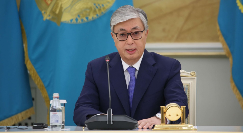 Выступление главы государства Касым-Жомарта Токаева на общенациональном онлайн-форуме BIZ BIRGEMIZ