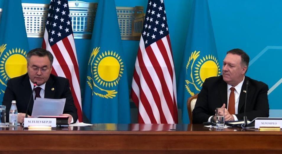 Глава госдепа США пообещал диверсифицировать свои инвестиции в экономику Казахстана