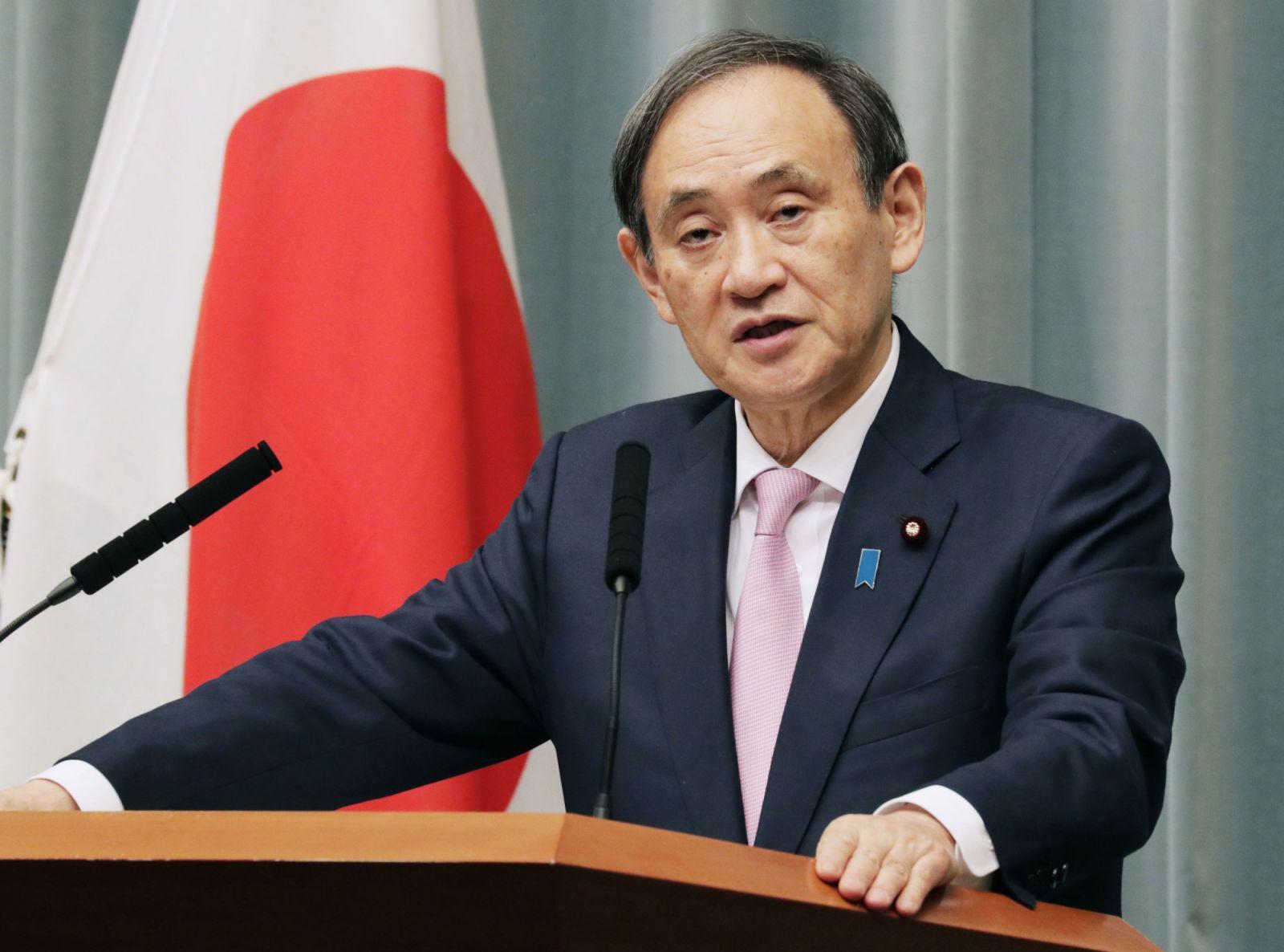 Новый премьер Японии Суга отправился в первое зарубежное турне – во Вьетнам и Индонезию