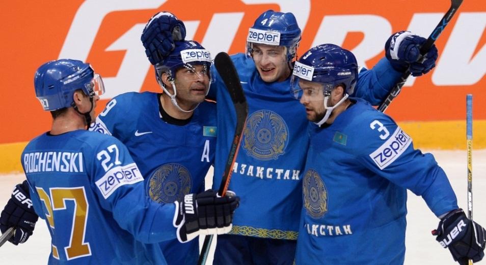 ЧМ по хоккею в Венгрии: Казахстан уходит в отрыв, Хоккей, Казахстан, Венгрия, Спорт