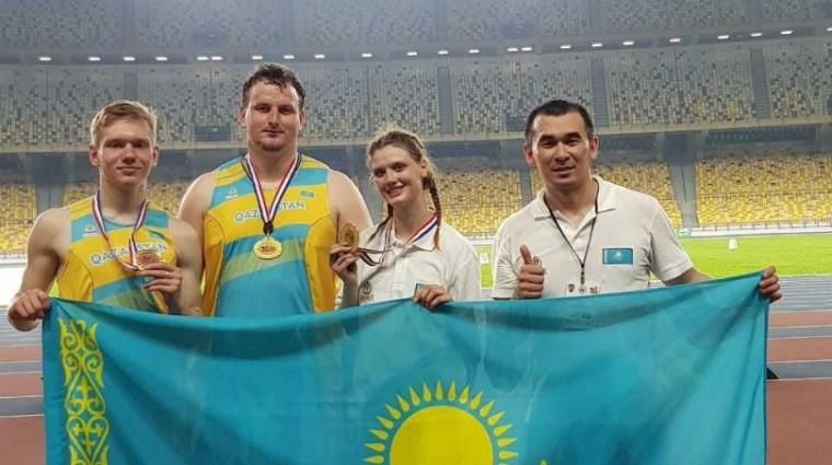 Казахстанские легкоатлеты завоевали еще две медали на турнире Malaysian Open Grand Prix 2019