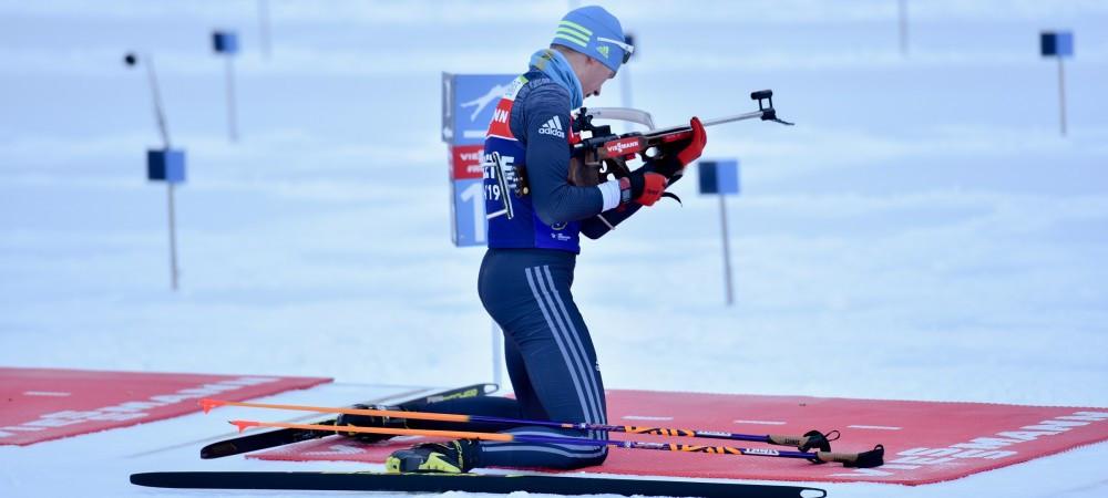 Роман Еремин финишировал 43-м в спринте на финальном этапе Кубка мира по биатлону