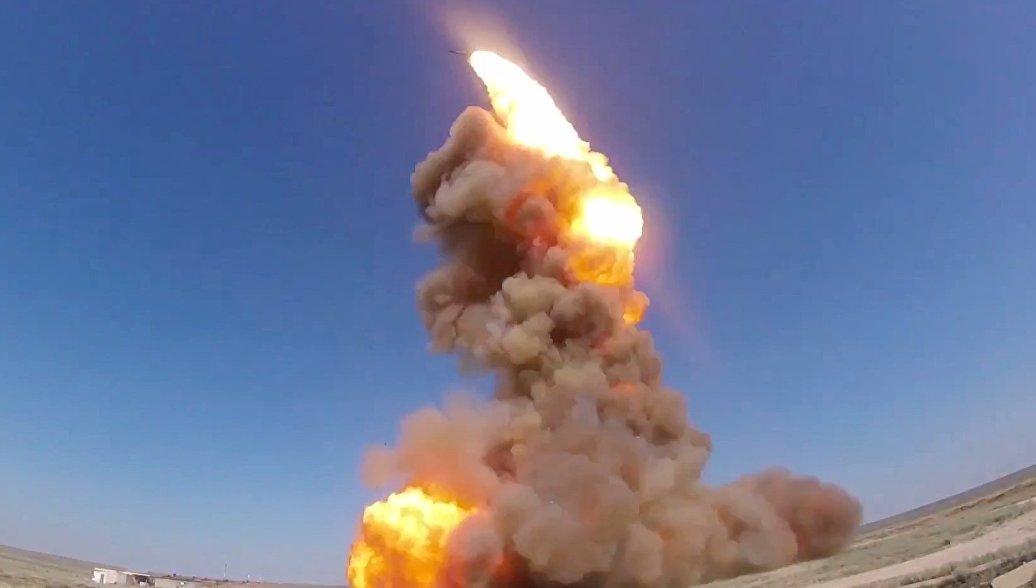 ВКС РФ на полигоне в Казахстане выполнили пуск модернизированной противоракеты системы ПРО