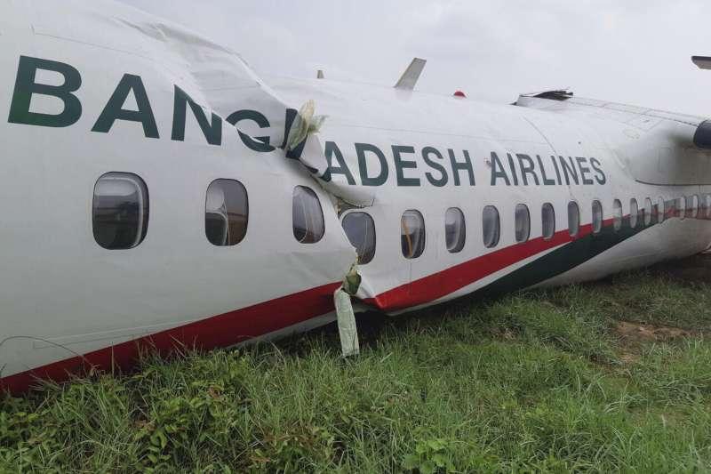Развалившийся при посадке самолет в Мьянме получит выплату из Казахстана