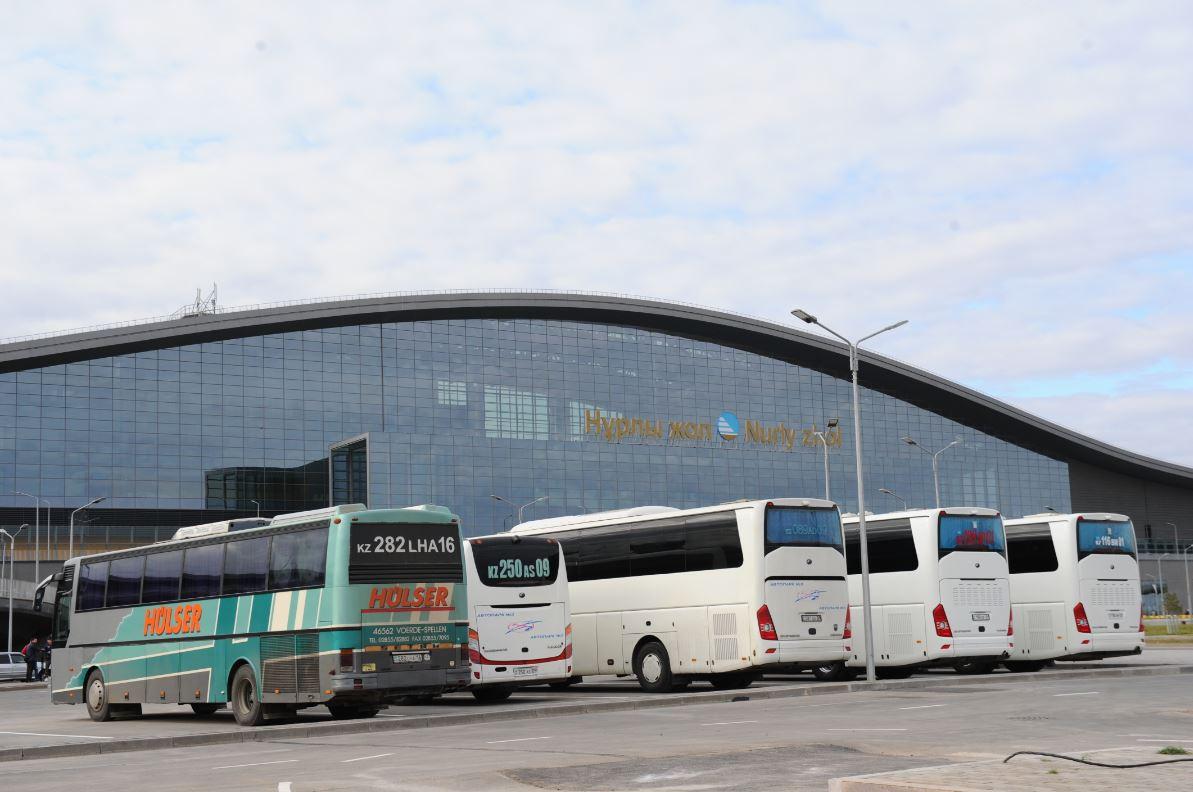 Сегодня начали ходить автобусы из Караганды в Нур-Султан и обратно