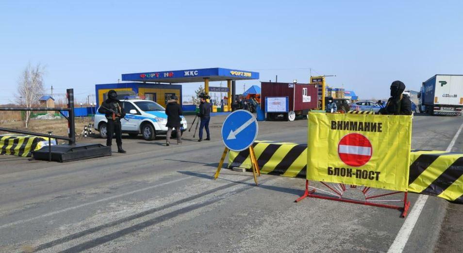 В Туркестанской области создали шесть блокпостов для охраны имущества населения