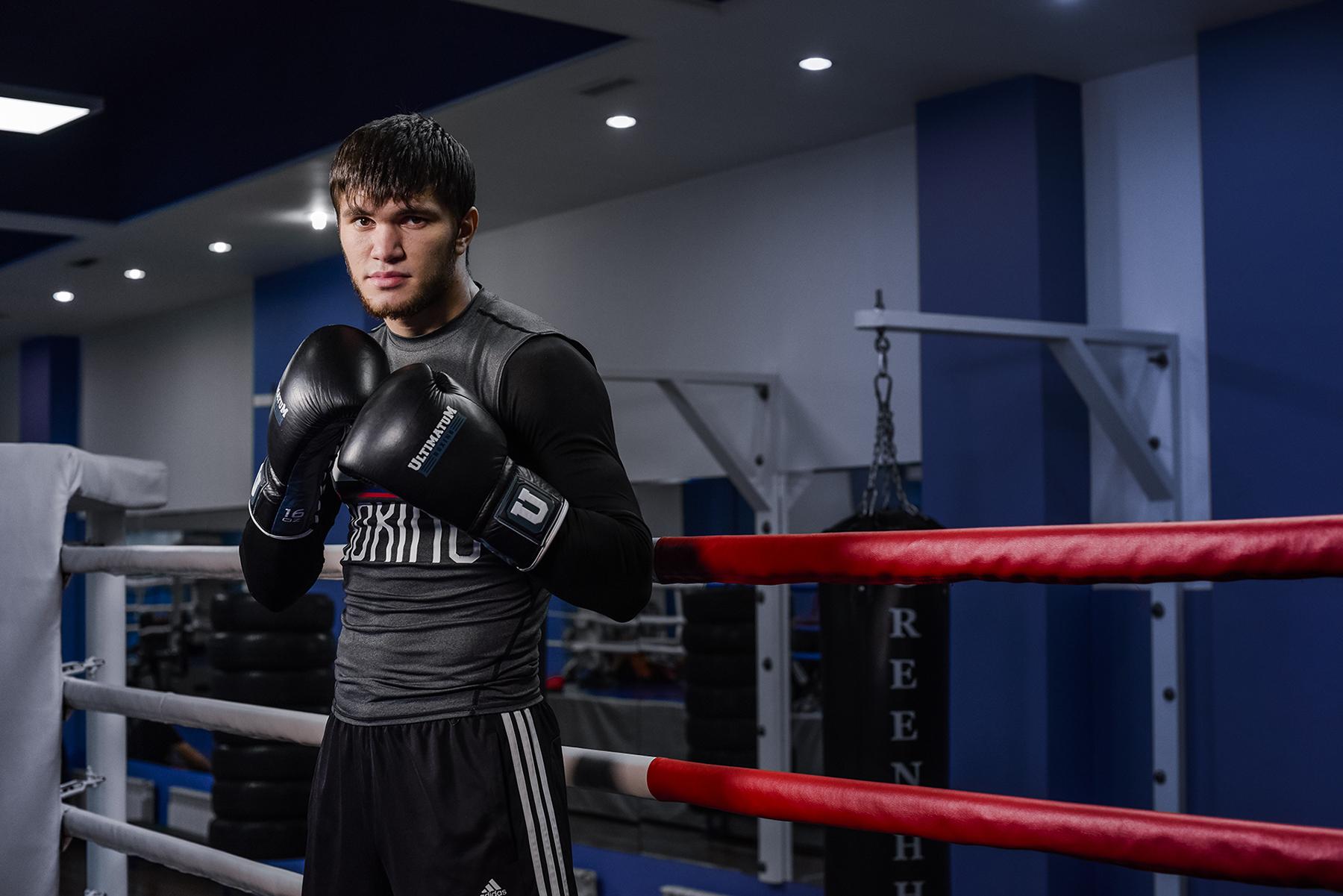 Ахмедов защитил пояс NABF Junior с нокаутом, Бокс, Али Ахмедов, Спорт, GGG Promotions