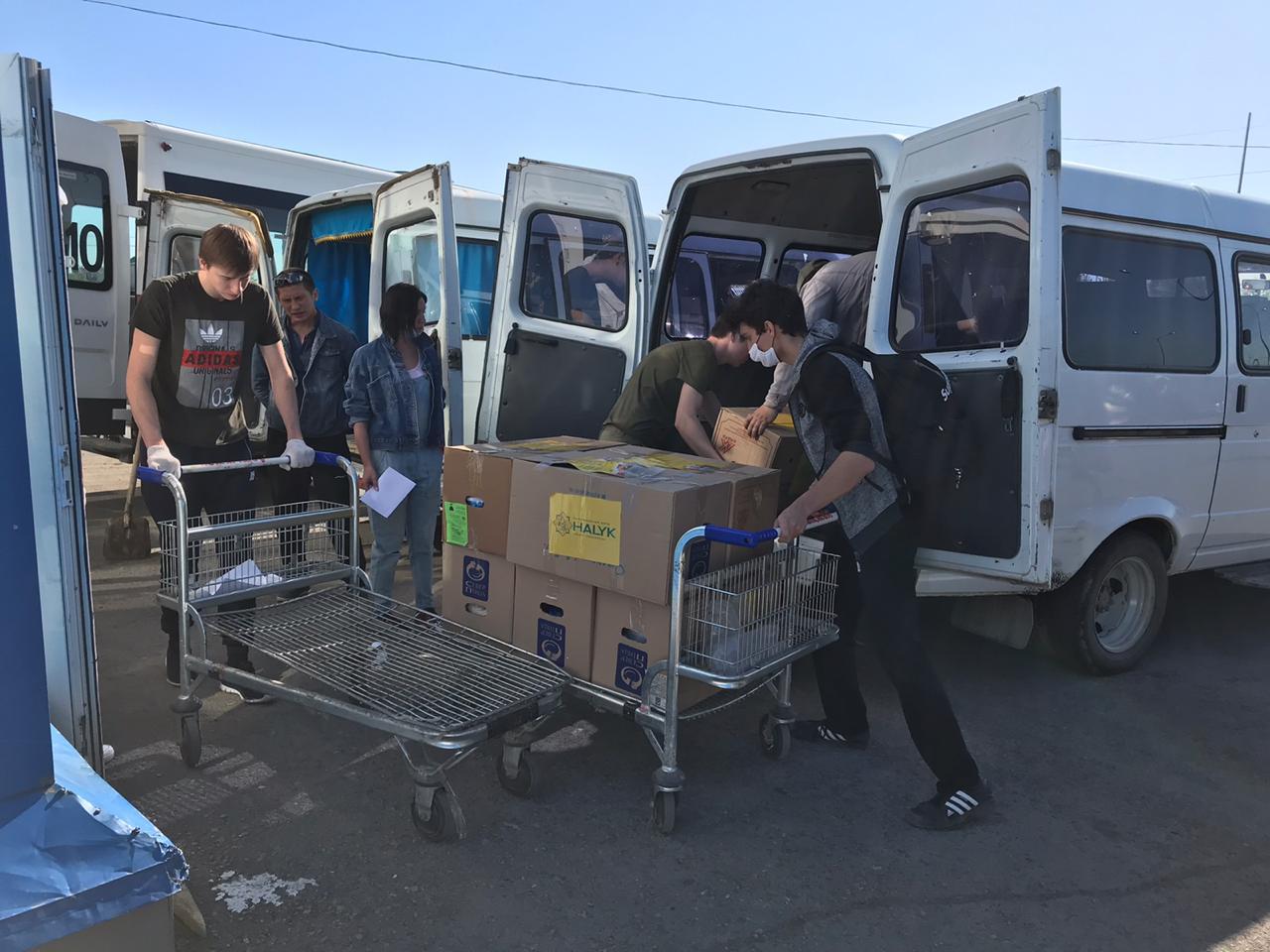 20 тысяч продуктовых наборов получили малообеспеченные семьи от благотворительного фонда «Халык»