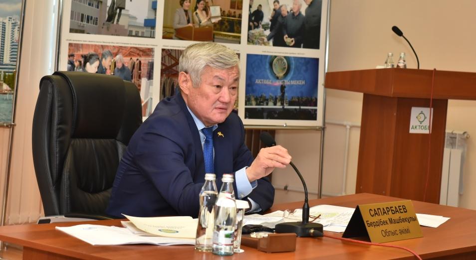 Строительство со скрипом, Бердыбек Сапарбаев, Индустриальная зона «Актобе», СПК «Актобе»