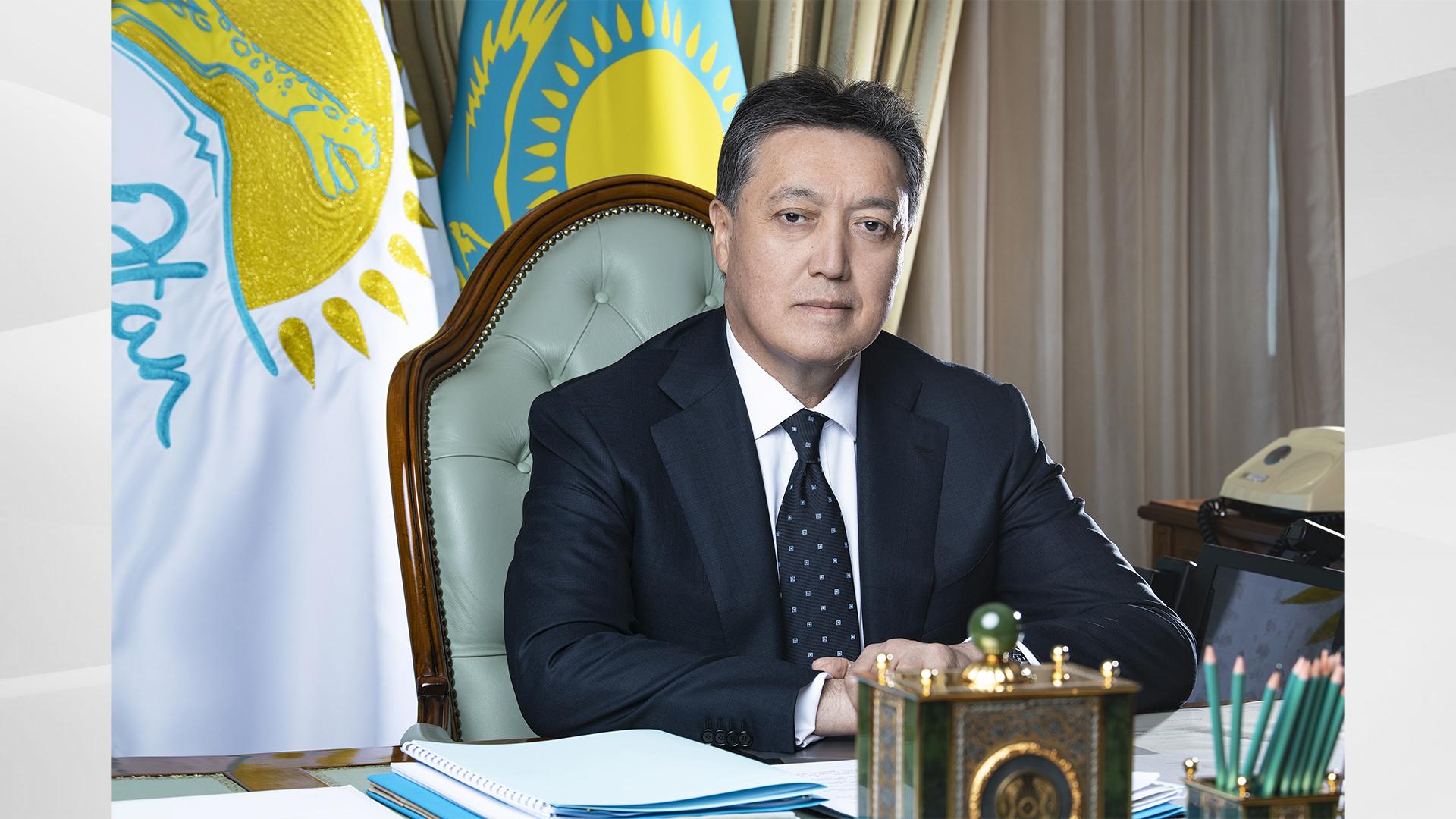 Премьер-Министр РК Аскар Мамин поздравил казахстанцев с Ораза айт