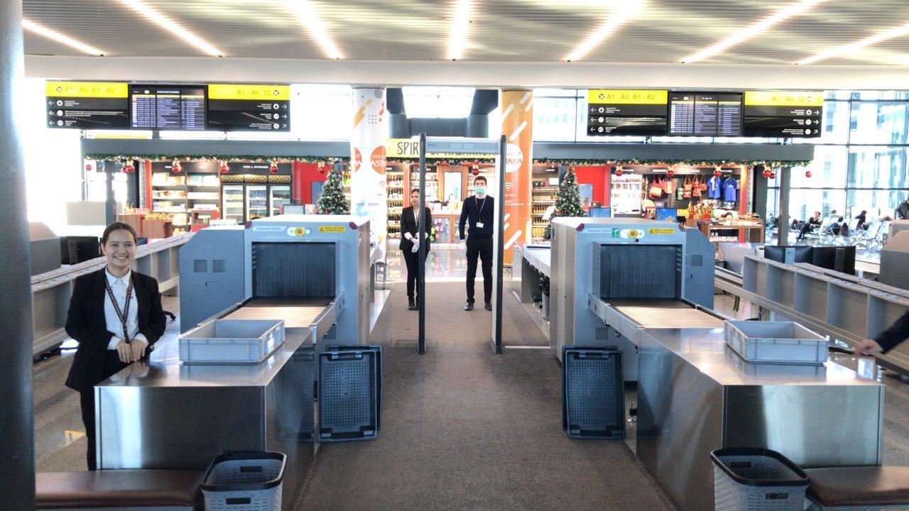 Аэропорты и авиакомпании РК усилят меры безопасности в новогодние праздники