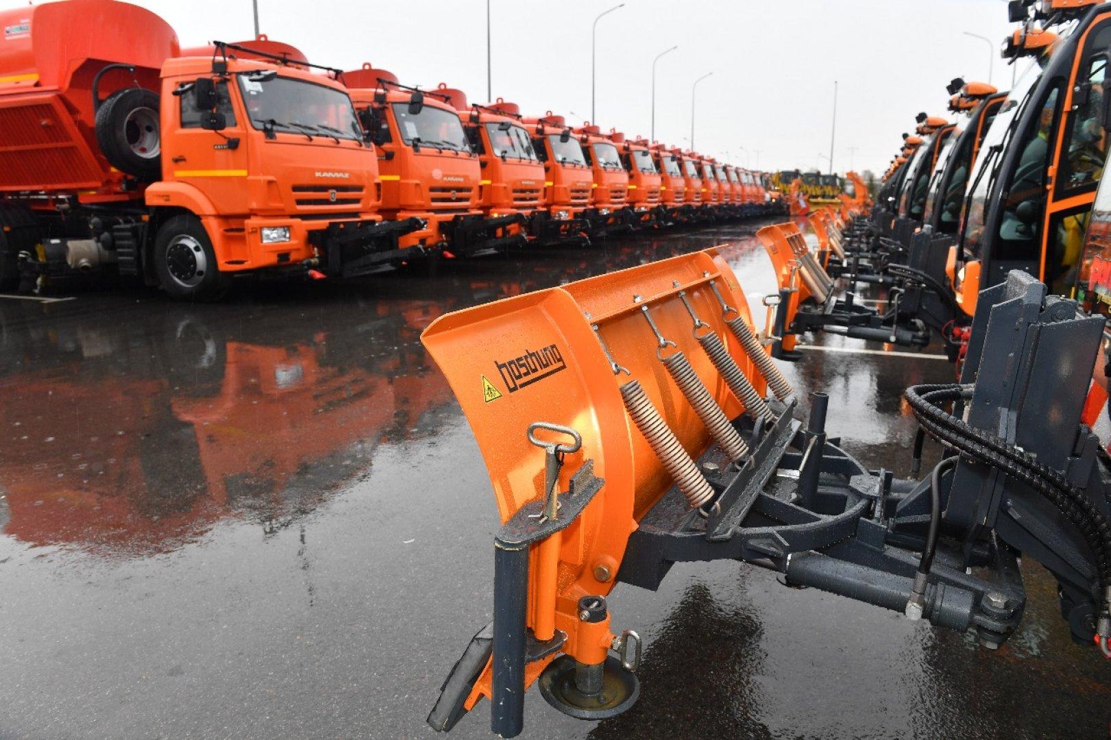 Дорожные службы республиканских автодорог готовы к наступлению зимних условий