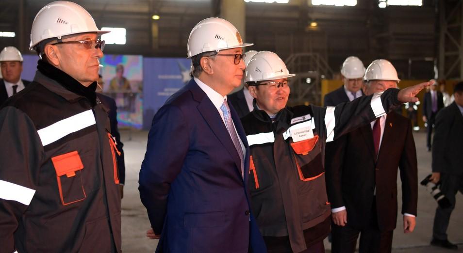 Касым-Жомарт Токаев: «Проект «Народный контроль» имеет важное значение, он обеспечивает социальную вовлеченность работников»