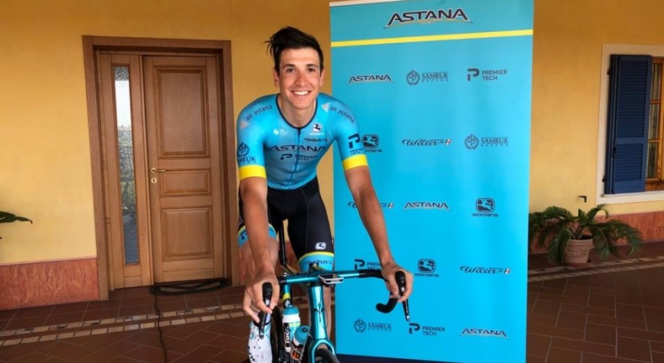 «Астана» выиграла виртуальный Giro d'Italia