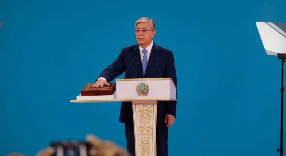 Касым-Жомарт Токаев вступил в должность Президента Казахстана на пятилетний срок