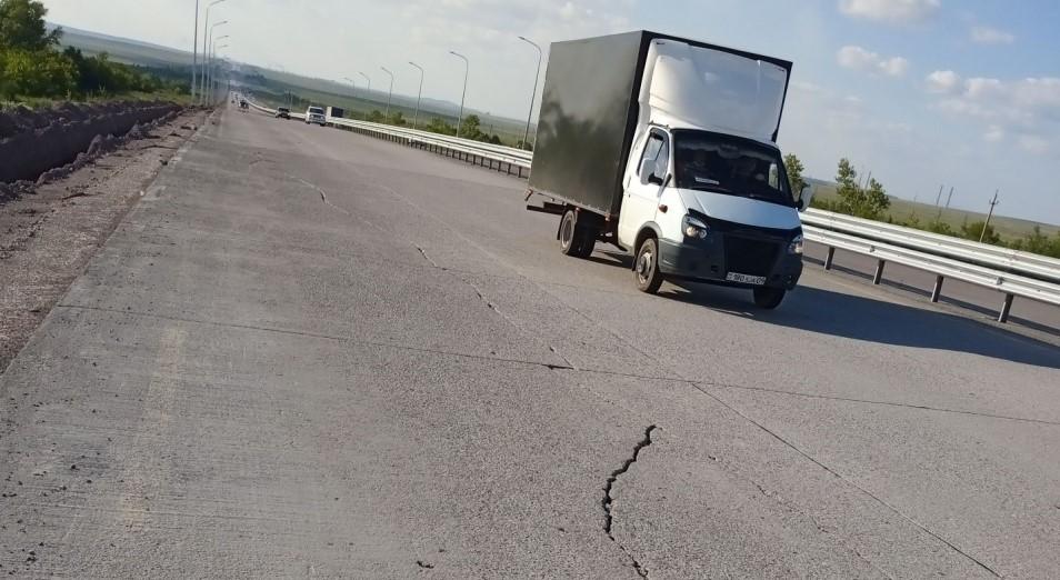 Бетон штопаный XV: Дорогу Темиртау – Караганда не закончат в этом году