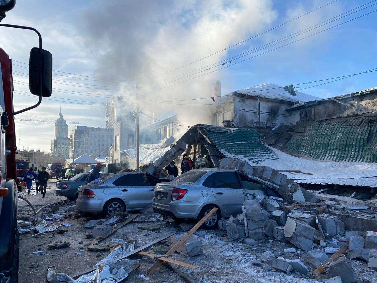 Уголовное дело заведено по факту взрыва кафе в Нур-Султане