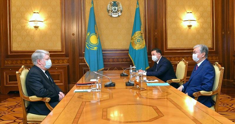 Токаев обсудил с послом РФ подготовку к Форуму межрегионального сотрудничества