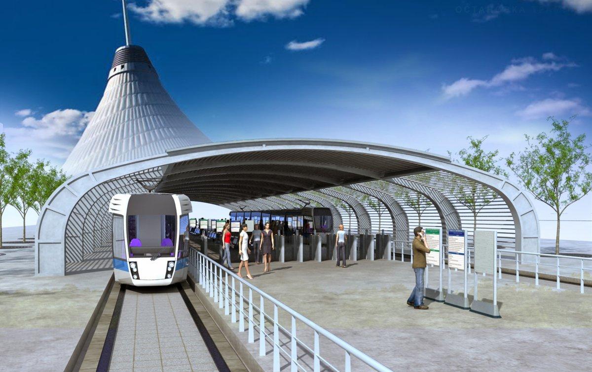 Предварительная стоимость проезда в наземном метро будет составлять около 200 тенге - Астана LRT